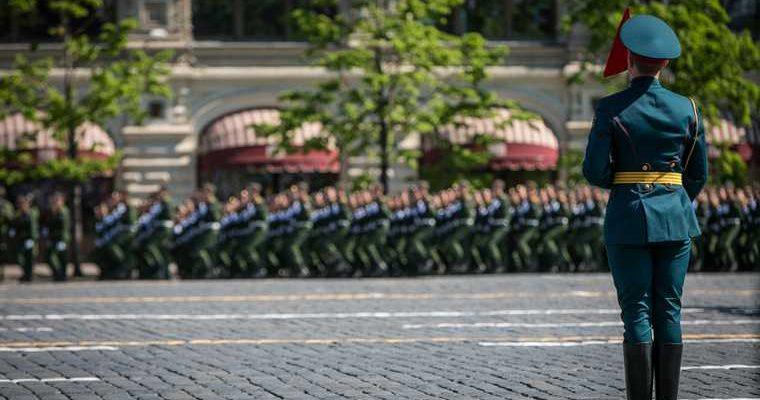 ЧП парад Победы в Москве