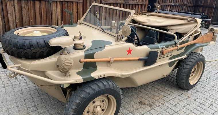В Тюмени продают машину с вёслами за 12 миллионов рублей