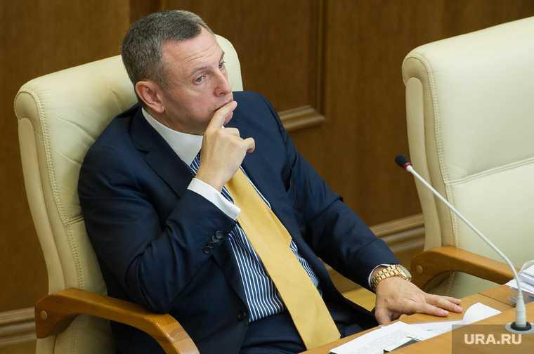 Евгений Куйвашев и заседание ЗССО. Екатеринбург
