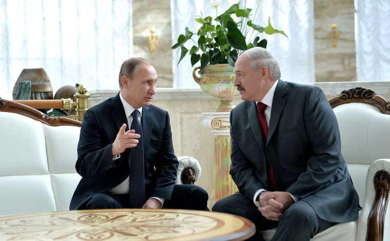 Путин Лукашенко резерв силовики граница
