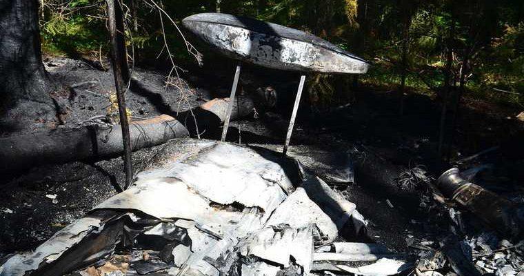 Крушение самолета в Московской области
