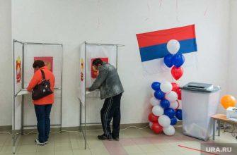 В Тюмени низкая явка избирателей