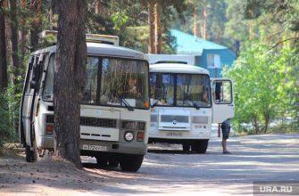 автобус в Шадринске