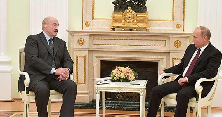 Лукашенко путин 14 сентября сочи переговоры беларусь