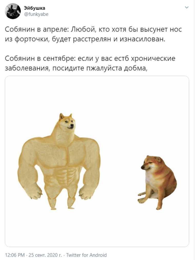 В соцсетях высмеяли Собянина из-за ограничений по коронавирусу. «Коллективный иммунитет не помогает»