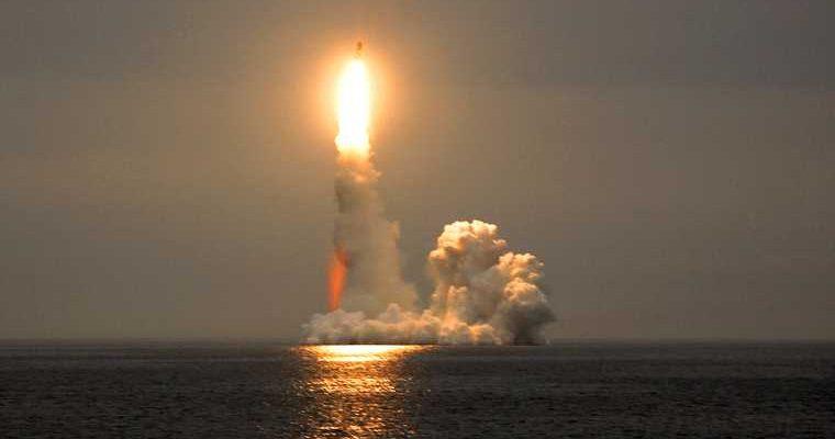 запуск новой российской ракеты «Циркон»