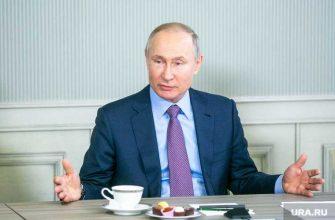 общенациональный карантин Путин