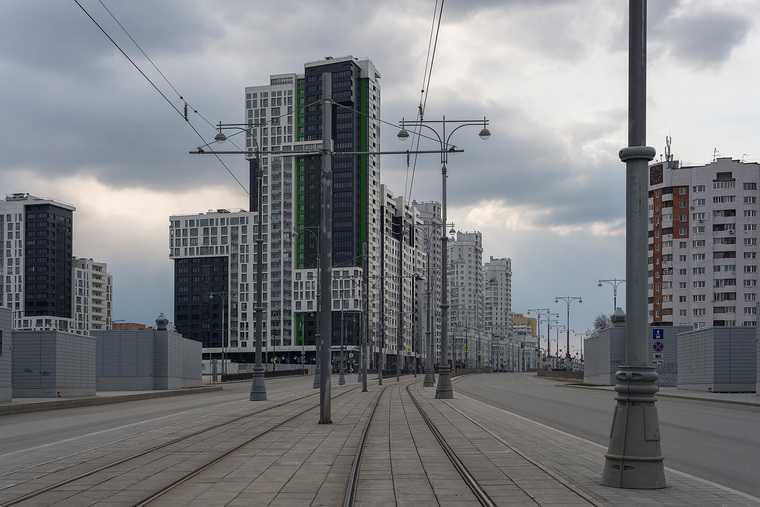 Уральский фотограф показал, как коронавирус изменил Екатеринбург. «Грусть, тоска, уныние». Фото