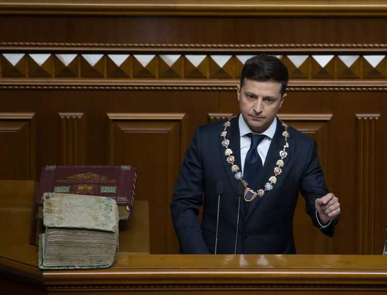 Владимир Зеленский президент Украина война Донбасс
