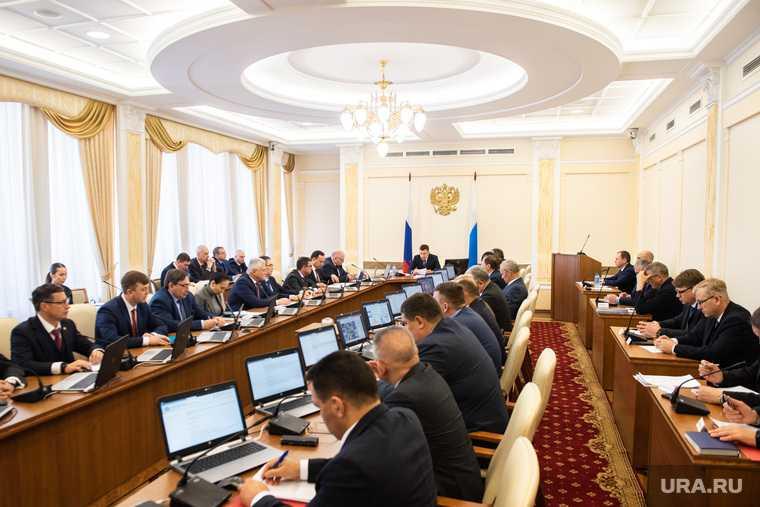 коронавирус в правительстве Свердловской области