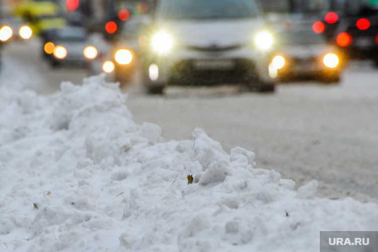 Челябинская область снег зима погода