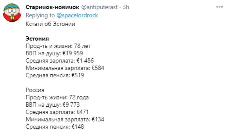 Соцсети высмеяли претензии Эстонии на российские территории. «Кто бы вякал»