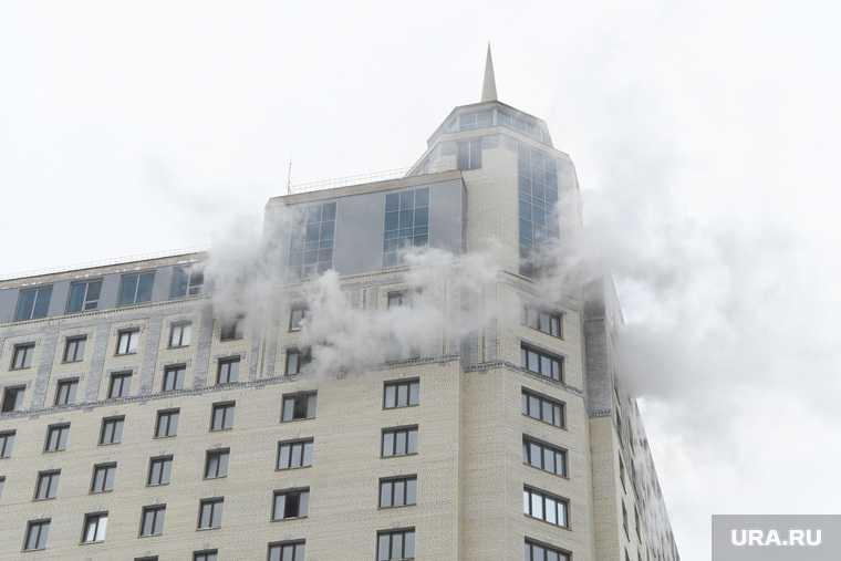 пострадавшие от пожара в высотке Екатеринбурга