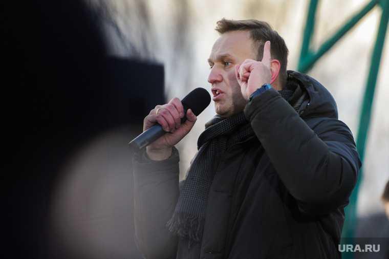 Навальный прилетел в Россию
