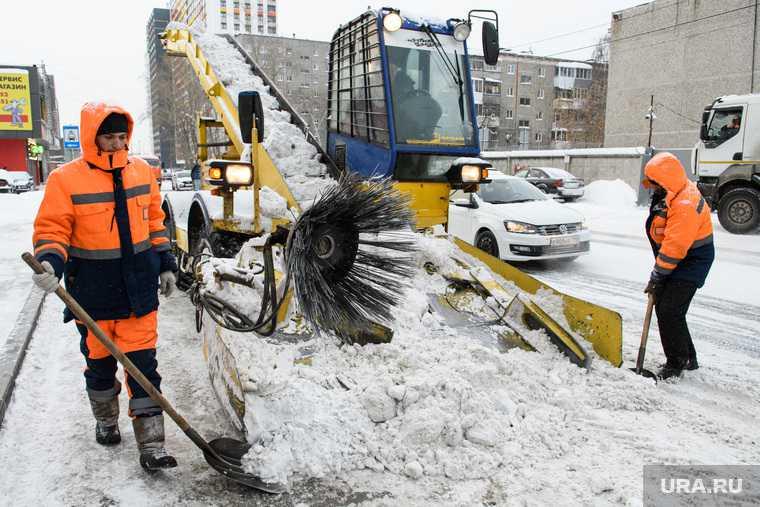 плохая уборка снега екатеринбург аварии