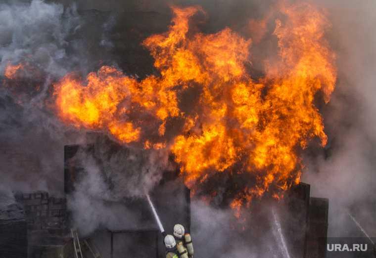 На месторождении в ЯНАО вспыхнул пожар