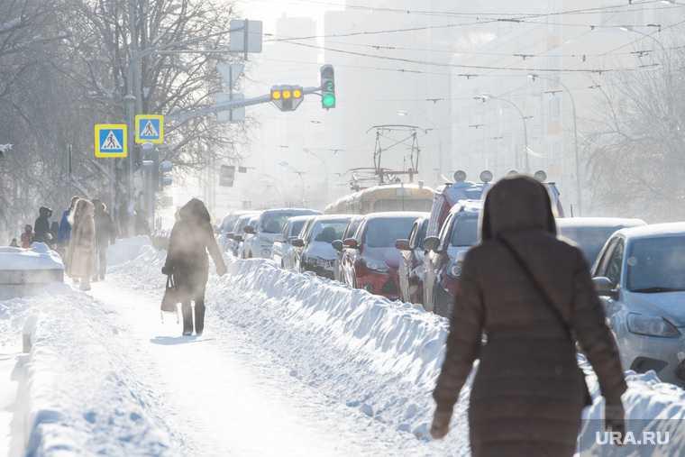 аномальные морозы Свердловская область 20 25 февраля