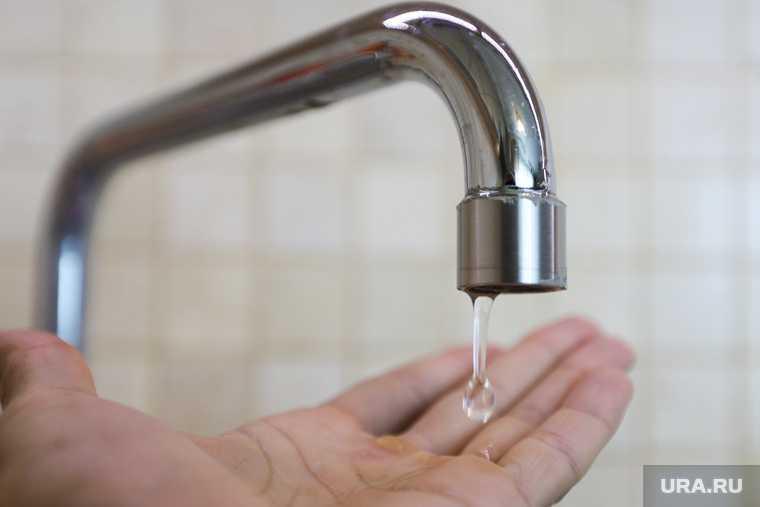 вода Курганская область