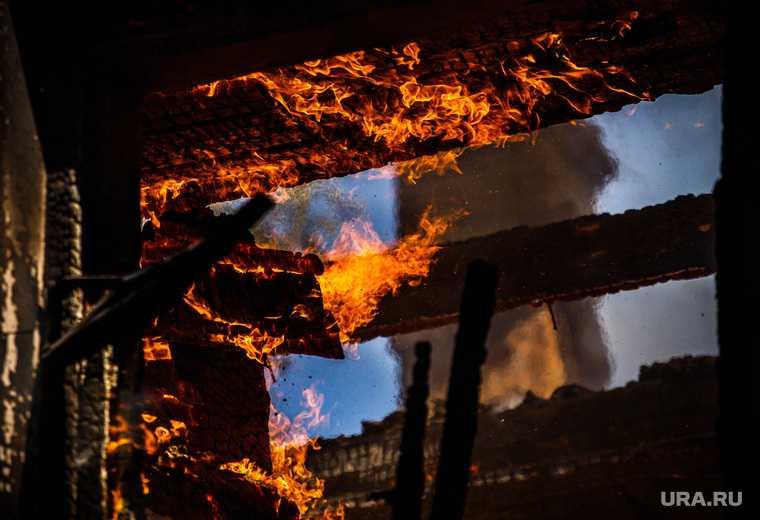 делянка мужчина поджог бытовку Тохтуева