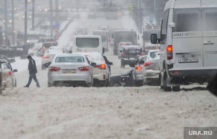Челябинская область М5 Урал Упрдор «Южный Урал» ограничение движения погода снегопад