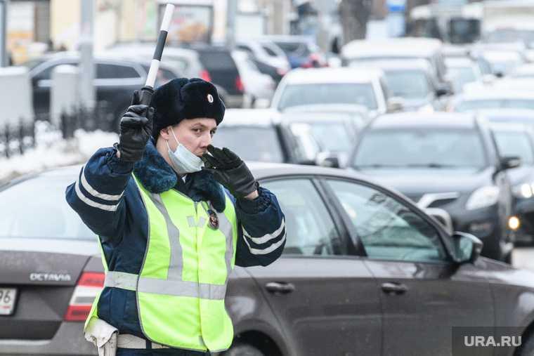 проверки ГИБДД в российских регионах