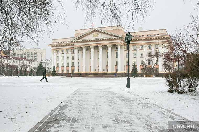 Снежный город. Тюмень