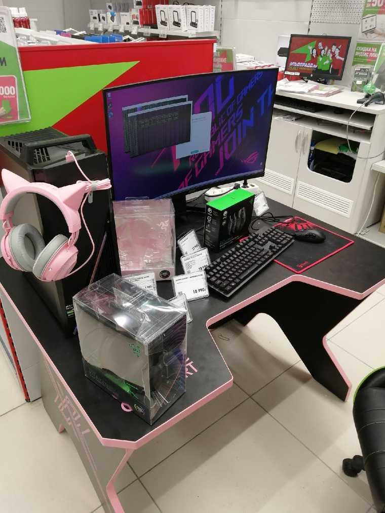 В магазине техники в ЯНАО портят компьютеры добычей криптовалюты. Фото