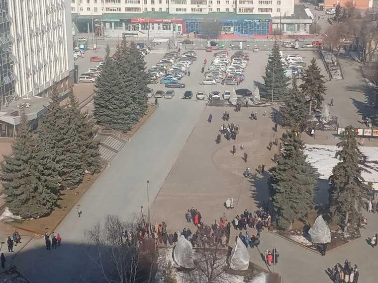 В Тюмени эвакуировали сотрудников мэрии