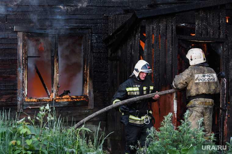 Пожар Бызово погибли пятеро детей