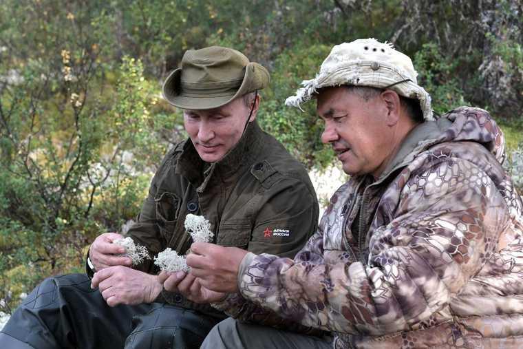 Путин отдых