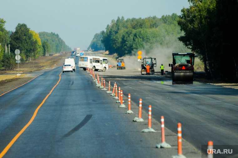 челябинск екатеринбург ремонт дороги ограничения