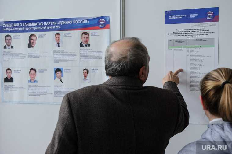 праймериз «Единой России» врачи выборы 2021 Свердловская область