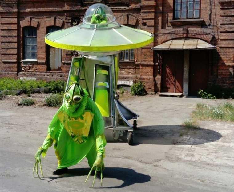 В Кургане покажут спектакль про Кыштымского гуманоида Алешеньку. Фото