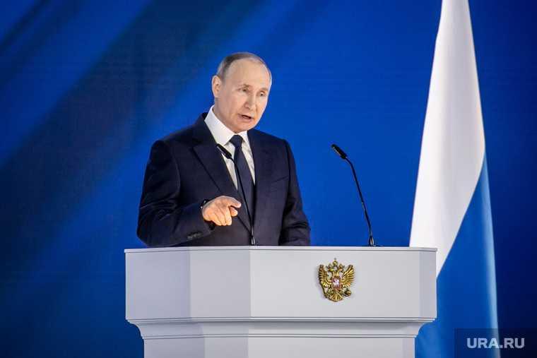 воинственное поведение Путина