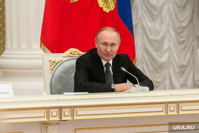 Президент России Владимир Путин глава Сургутнефтегаза Богданов